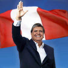 Alan Gabriel Ludwig García Pérez, Ex -Presidente del Perú en dos periodos  1985 al 1990 y en el 2006 al 2011. Nació en Lima - Perú (23 de mayo de 1949- 17 de abril de 2019) Abogado de profesión y político peruano, considerado como uno de los presidentes más jóvenes del Perú (35 años) y uno de los mejores oradores del mundo.