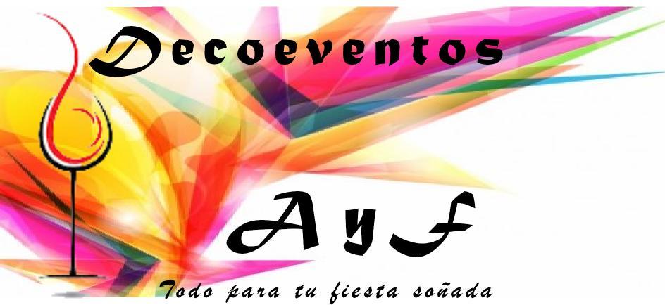 DeceEventos Ay F @DecoeventosAyF